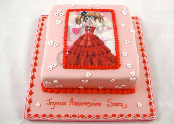 Célèbre Les 25 meilleures idées de la catégorie Gâteaux d'anniversaire  UT14
