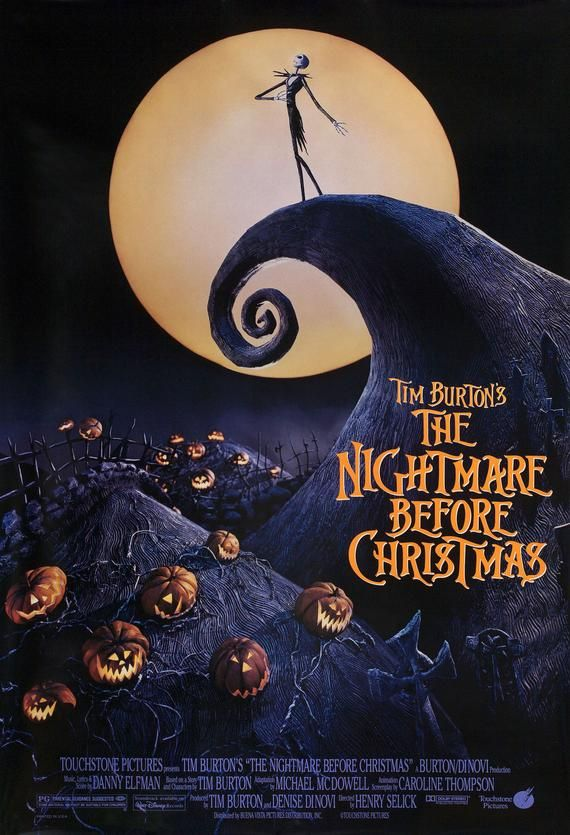 Halloween 2020 Watch Online Putlocker The Nightmare Before Christmas 1993 U.S. Poster in 2020