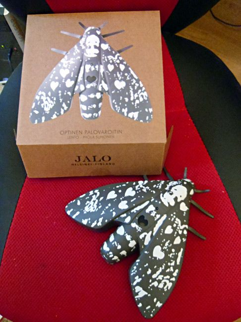 Death's Head Moth - Smoke Alarm. It comes in other colors but doesn't appear to be available to the US.