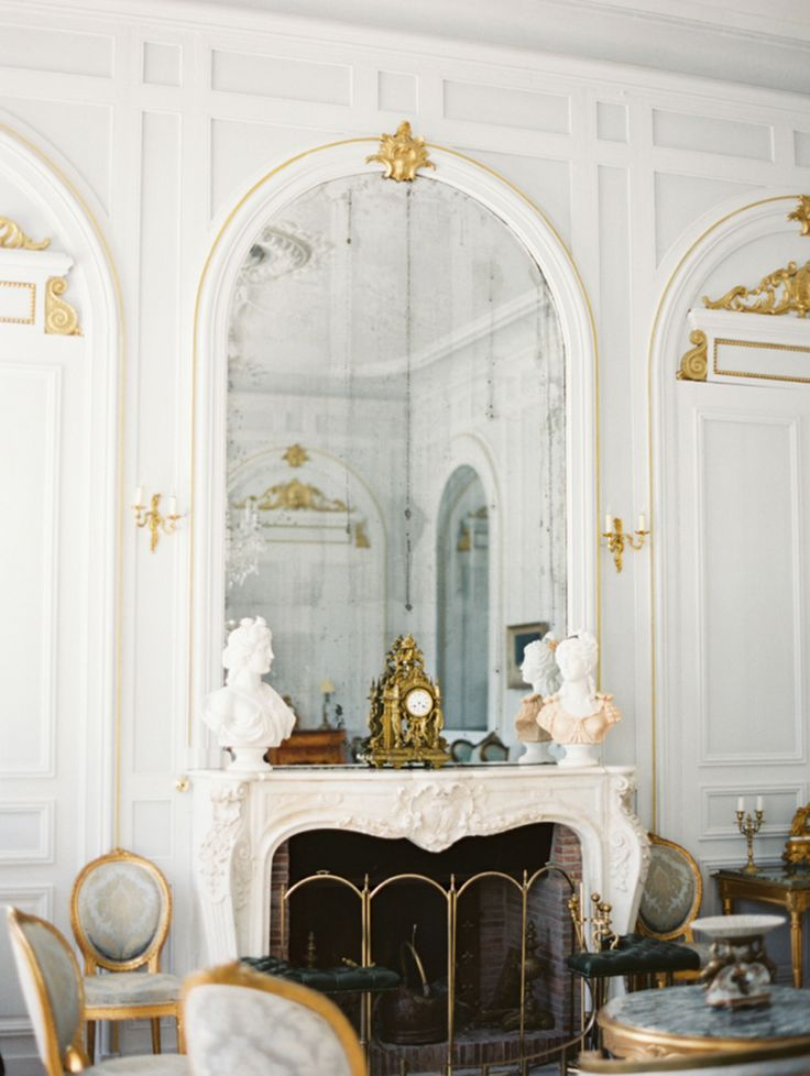 Décor Inspiration: Magical Chateau In The Dordogne, France. Marble  FireplacesLiving Room ... Part 96