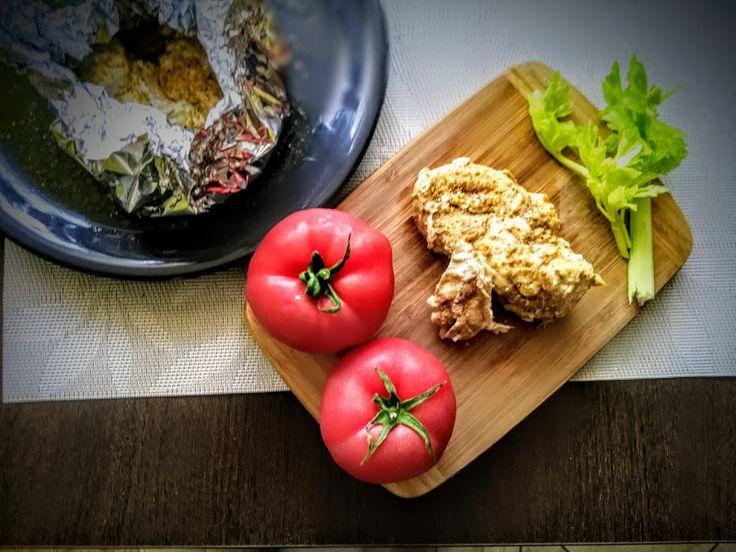 Fit & Fast Kitchen: Pieczona pierś z kurczaka w oliwie z oliwek i piep...
