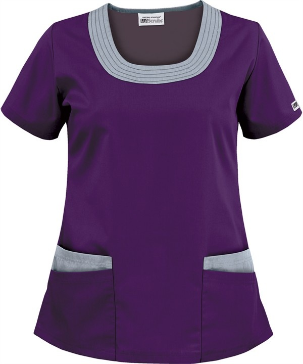 CT394 UA Best Buy Next Generation Contrast U-Neck Scrub Top http://www.uniformadvantage.com/pages/prod/contrast-u-neck-scrub-top.asp?frmColor=EGDOG