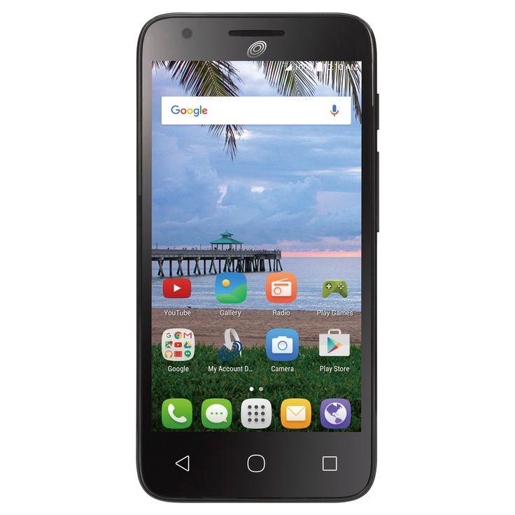 Simple Mobile Alcatel OneTouch Pixi Avalon, Black