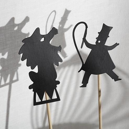 Gris: Shadow puppets