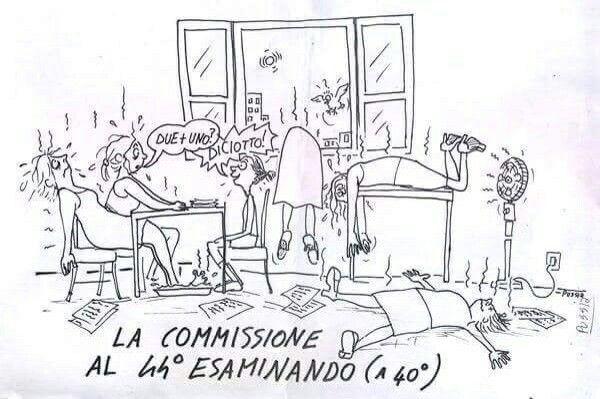 Esami di licenza media in estate... :-) #umorismo