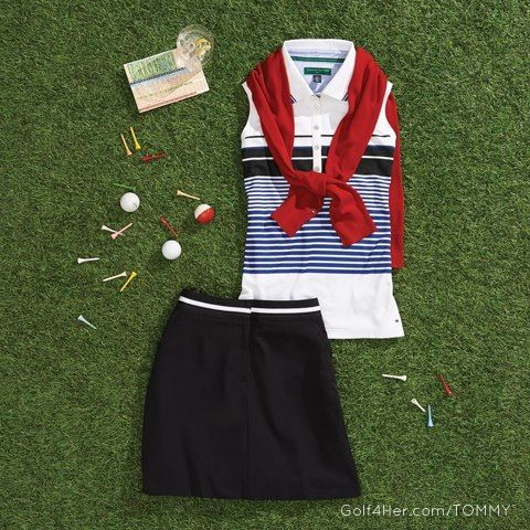 All-American golf fashion from Tommy Hilfiger http://www.annamariaislandhomerental.com https://www.facebook.com/AnnaMariaIslandBeachLife