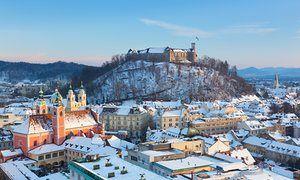 Top 10 winter city breaks in Europe - Ljubljana is one of them.