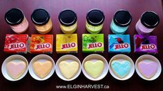 You've seen the picture everywhere - here is the post for the recipe --- Rainbow Jell-O Icings