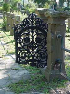 Gate to The Garden of Good and Evil, Bonaventure Cemetary, Savannah,GA
