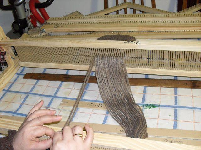 Wuitralkapen Pergamino: Aprendiendo con el telar de peine (telar maria)