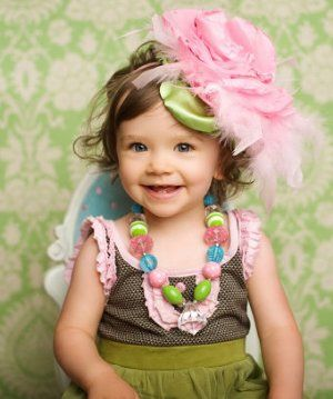 over the top! so cute!Colors Combos, Little Girls, Clouds Headbands, Photos Shoots, Head Band, Baby Girls, Photos Props, Headpieces, Candies Clouds
