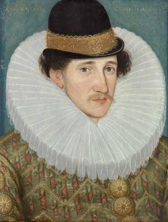 Edward Talbot, 8th Earl of Shrewsbury and Waterford, 1586 (Hieronimus Custodis) (??-1593) The Weiss Gallery, London:
