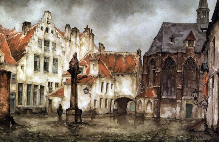 work of Anton Pieck