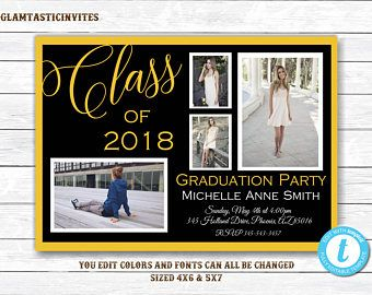 Graduation Invitations High School Graduation Party Invitation