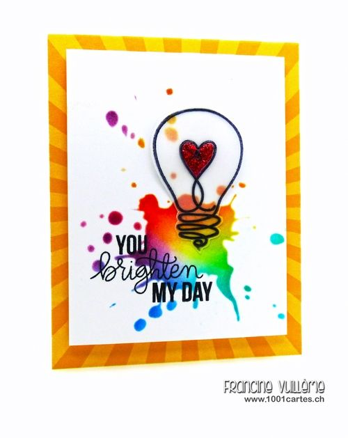 Love this card by Francine Vuillème using Simon Says stamp Exclusives. Stamptember 2014