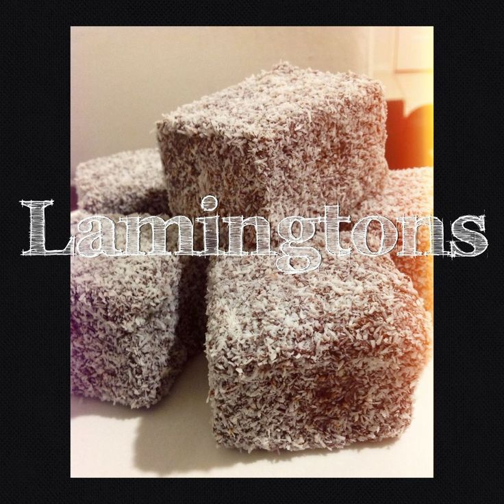 My Dad has been asking me to make lamingtons for a couple of months and this morning he said, can't you just make some for me and put them on that bloggy thing you do? LOL. I was like really? Bless...