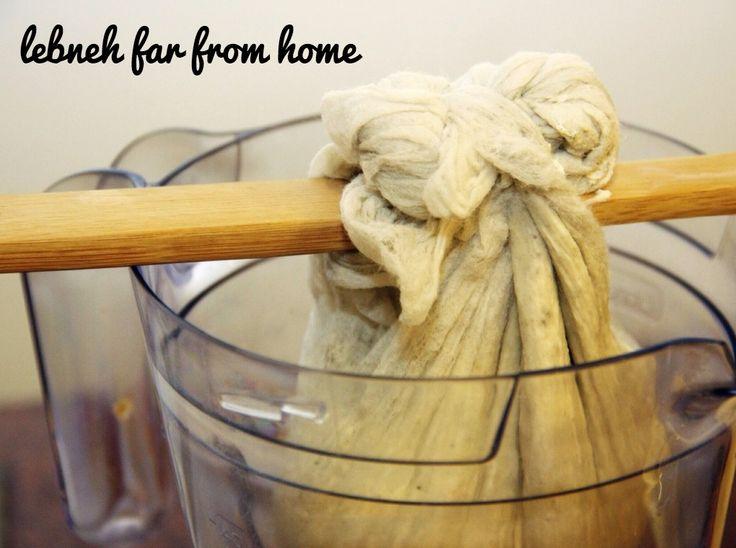 how to make cottage cheese using yogurt