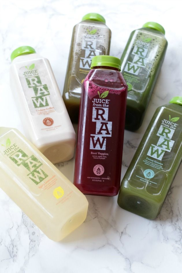 Juice from the Raw 3 Day Cleanse