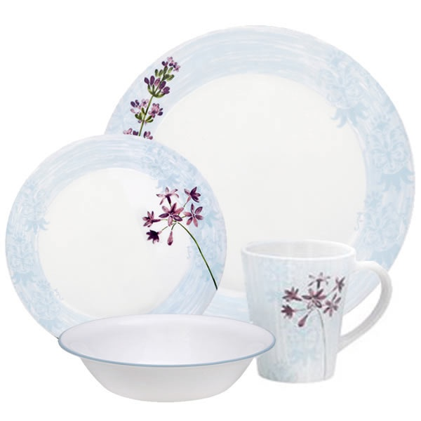 The charming dainty flowers on Corelle Impressions Summer Meadow are pretty fresh and perfect for both formal and casual dining.  sc 1 st  Pinterest & 10 best Corelle Dishes images on Pinterest | Dinnerware sets Dish ...