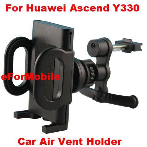 Автомобильный держатель вентиляционное отверстие мобильный телефон автомобильный держатель вращающийся владельца мобильного телефона стенд для Huawei Ascend Y330
