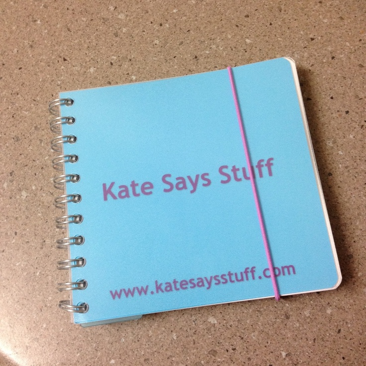 Kate from katesaysstuff.com designed this planner