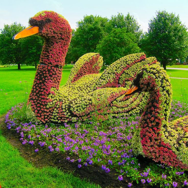 Sculptures of Plants. Mosaicultures Internationales de Montreal 2013