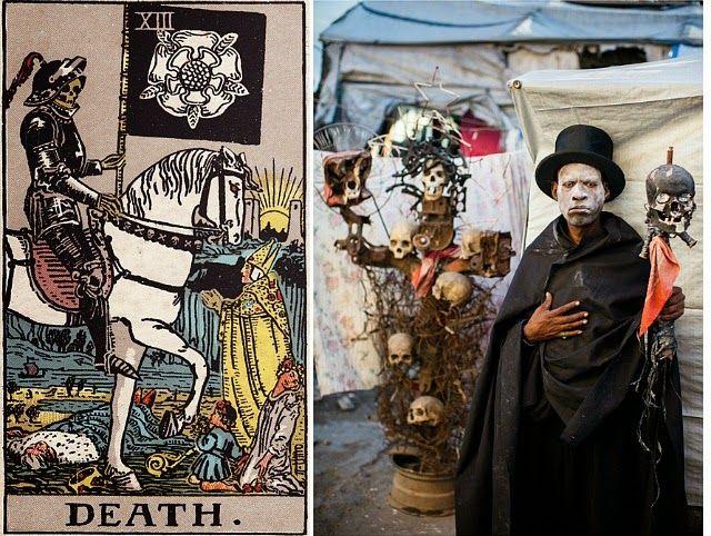 'The Ghetto Tarot': Haitian artists transform classic tarot deck into stunning real life scenes