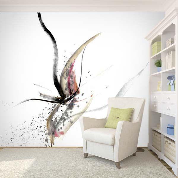 Art wall paper 'Wind' by Finnish fashion designer Jukka Rintala. Buy at www.art4u.fi