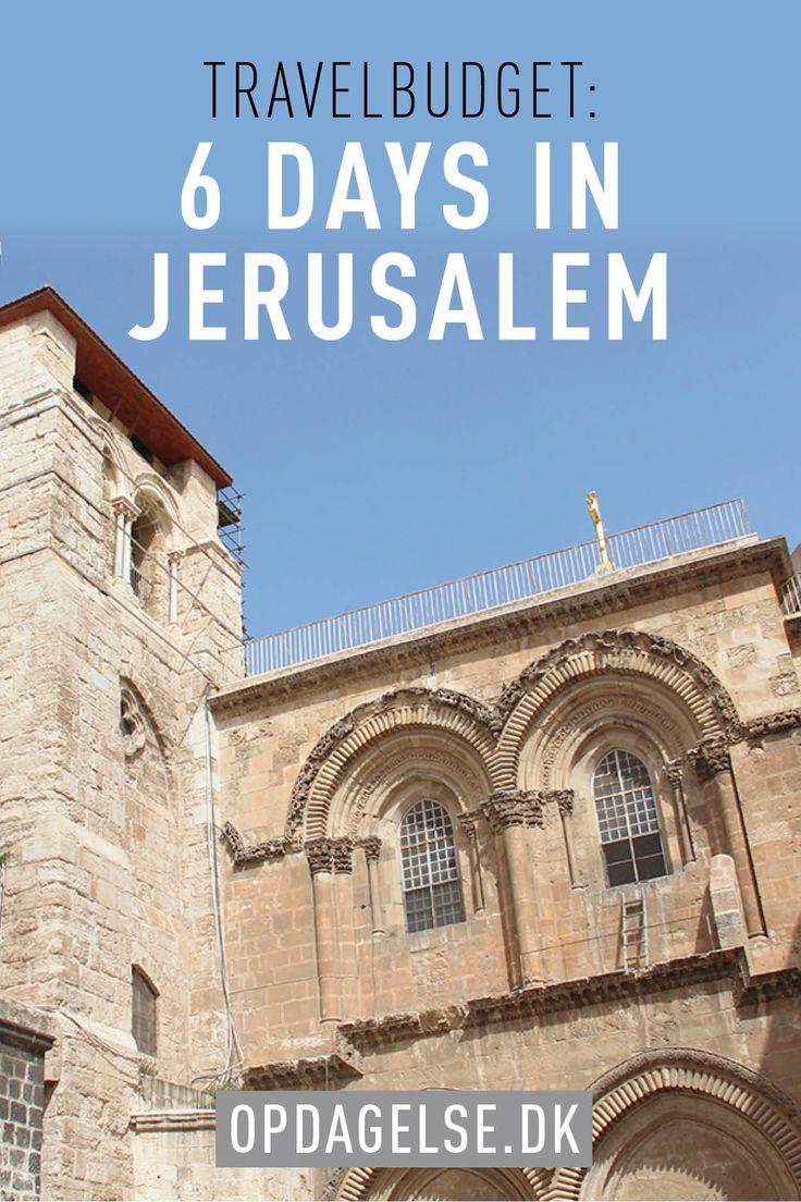 Travelbudget - 6 days in jerusalem