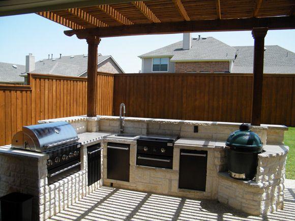 Brick Outdoor Barbeque Designs