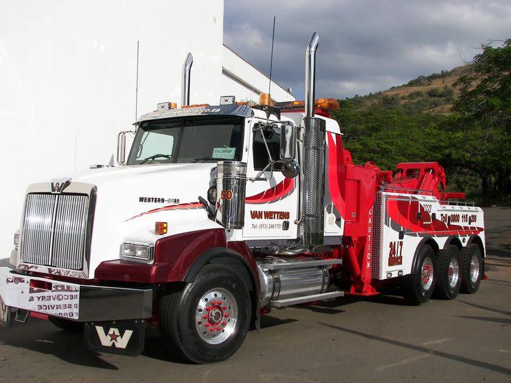 WESTERN STAR - Van Wettens | Tow trucks | Trucks, Tow Truck och Towing, recovery