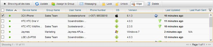 3CX Mobile Device Manager - Remote Wipe Feature http://jomar.cc/mdm/