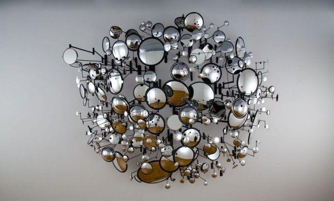 Escultura de espelhos