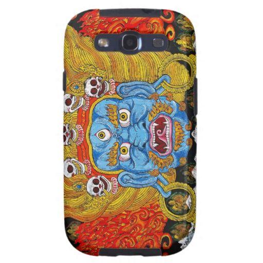 Cool oriental tibetan thangka demon tattoo art samsung galaxy s3 cases