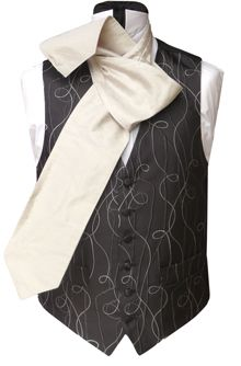 HOW TO TIE A Cravat - Neckwear Gentlemen's Wedding Neckwear