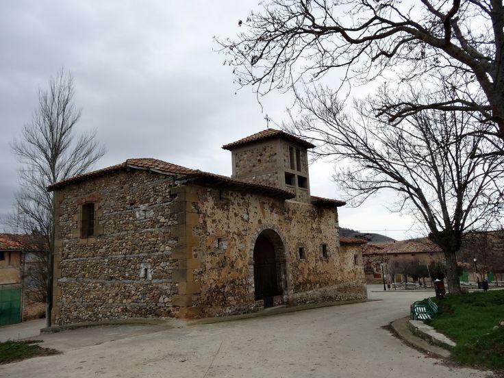 Iglesia de San Gil Abad, Villamayor del Río, Burgos, Camino de Santiago