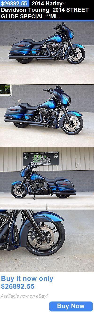 Motorcycles: 2014 Harley-Davidson Touring 2014 Street Glide Special **Mint** $15K In Xtras! 1 Of A Kind!! Cvo Killer!! BUY IT NOW ONLY: $26892.55 #harleydavidsonroadglidecvo #harleydavidsonbikes