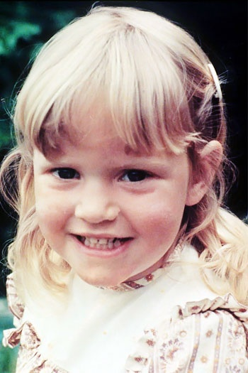 Kate Winslet as a child
