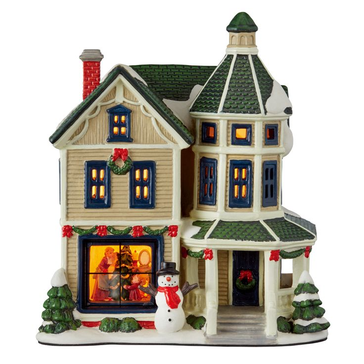 281 Best Christmas Town Images On Pinterest