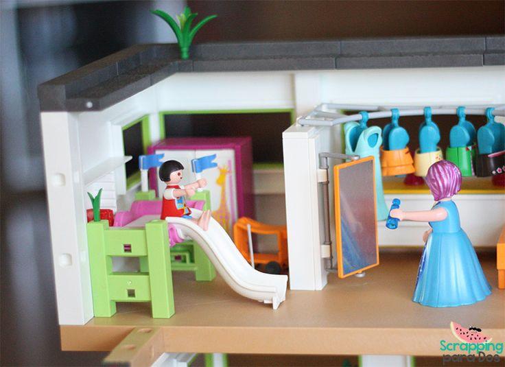 Habitacion ninos playmobil figuras pinterest mansi n for Playmobil casa de lujo
