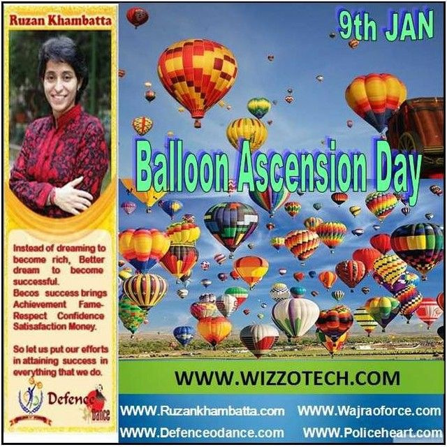 On January 9 1793 Jean Pierre Blanchard a noted French aeronaut launched a balloon into the sky in Philadelphia Pennsylvania. This was the first aerial voyage in the new United States.  #youthicon #motivationalspeaker #inspirationalspeaker #mentor #personalitydevelopment #womenempowerment #womenentrepreneur #entrepreneur #ruzankhambatta #womenleaders #BalloonAscensionDay