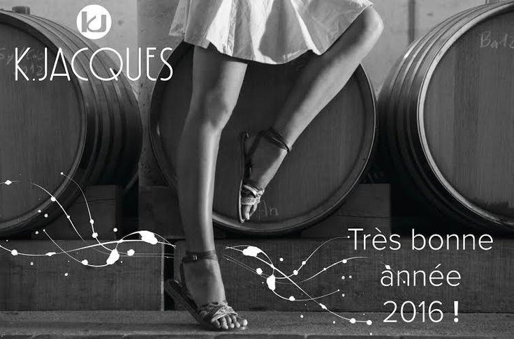 Toute l'équipe K.JACQUES vous souhaite une bonne année 2016!  All team K.JACQUES wish you an happy new year 2016!