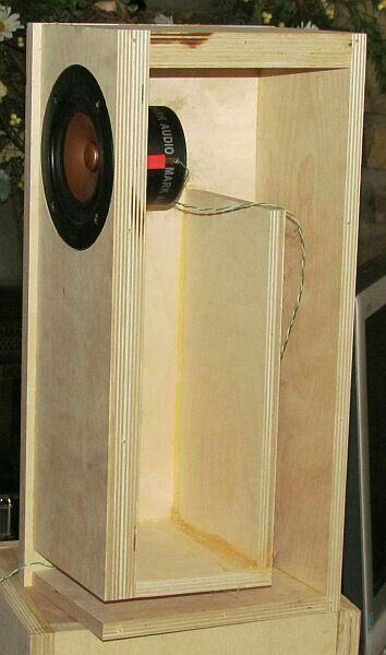 Speaker box design