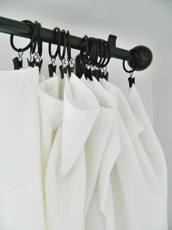 My Favorite Way To Hang Curtains In 2020 Hanging Curtains Ikea Curtain Rods Curtains With Rings