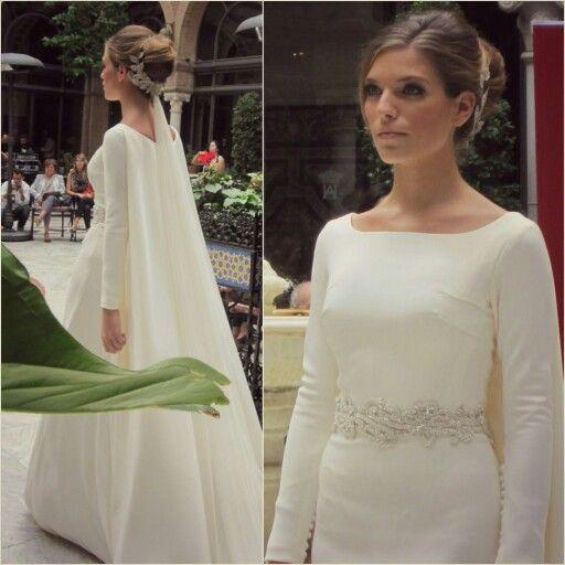 Capa - cola para un vestido de novia