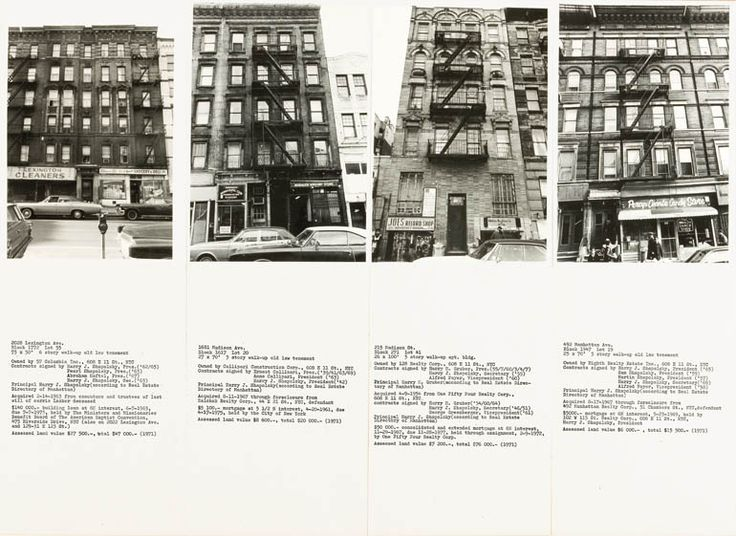 Shapolsky et al. Manhattan Real Estate Holdings, a Real-Time Social System, as of May 1, 1971 by Hans Haacke