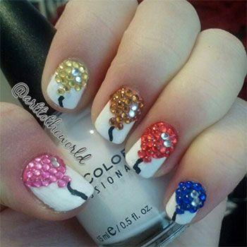 nail+designs+for+birthday | Easy Birthday Nails Designs Ideas 2014 8 Easy Birthday Nails Designs ...