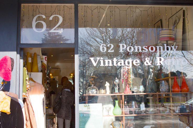 Shop with a stylist tour with #placesandgraces / #vintage #retro #62ponsonby  / photo @capturedbykeryn