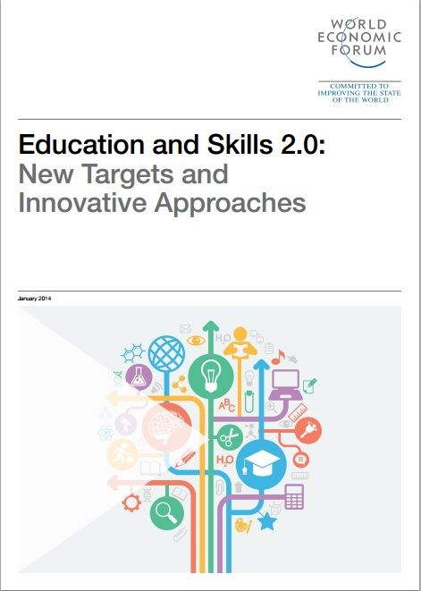 The World Economic Forum's Global Agenda Council on Education & Skills publishes Education and Skills 2.0: New Targets and Innovative Approaches to provide the latest thinking on the critical importance of education. #wef #wefreport #education