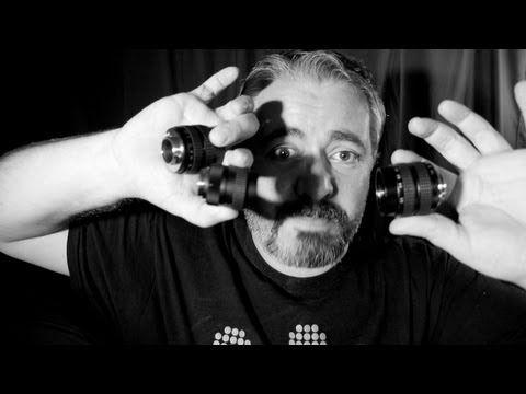 ▶ Random-Ass Glass - Adapted lenses on the BMPCC - BlackMagic Pocket Cinema Camera Review - YouTube